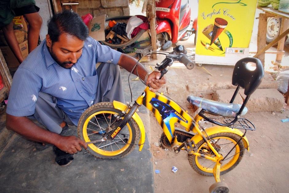 Repairing Bicycles